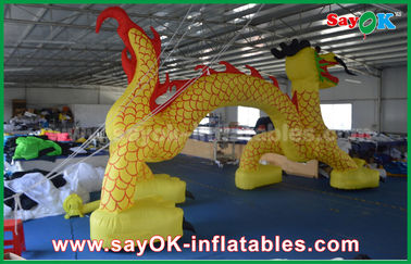 7 X 4M Inflatable Entrance Arch / Inflatable Finish Arch For Promotional