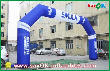 Porcellana Arco gonfiabile di evento all'aperto del PVC, arco gonfiabile di rivestimento di Finsh di sport fornitore