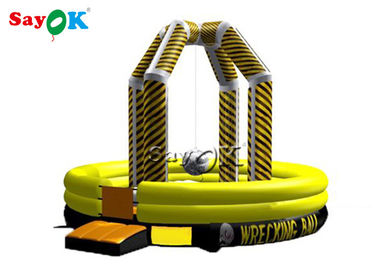Commercia Inflatable Wrecking Ball Game / Inflatable Demolition Game