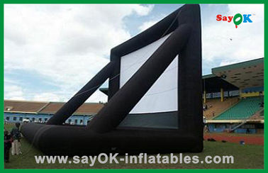 Advertising Inflatable Movie Screen / Inflatable Tv Screen For Outdoor Party
