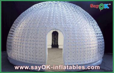 Porcellana Tenda gonfiabile della bolla dell'aria del vinile di 8 persone della cupola gonfiabile della tenda per spettacolo fornitore