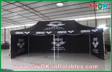 Porcellana Struttura di alluminio che piega tenda impermeabile/tenda all'aperto gigante del nero fornitore