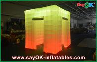 Cabina gonfiabile della foto della luce del cubo della porta di apertura 2 con la cima principale
