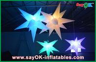 di buona qualità Tenda gonfiabile dell'aria & Nozze che appendono la stella principale gonfiabile della decorazione gonfiabile di illuminazione in vendita