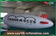 Porcellana aereo di aria gonfiabile dello zeppelin dell'elio del pallone 5m dell'elio di logo su ordinazione del PVC di 0.2mm fabbrica