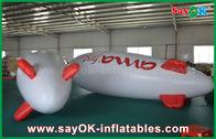 Porcellana zeppelin gonfiabile di pubblicità di galleggiamento dell'aeroplano dell'elio del pallone di 5m per la promozione fabbrica