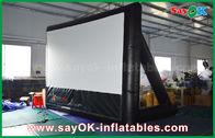 Porcellana materiale gonfiabile del PVC dello schermo di film 7mLx4mH con la struttura per proiezione fabbrica