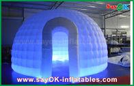 di buona qualità Tenda gonfiabile dell'aria & tenda rotonda della cupola dell'iglù del panno di 210D Oxford della tenda gonfiabile dell'aria con la luce del LED in vendita