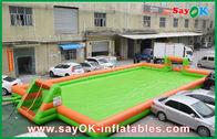 di buona qualità Tenda gonfiabile dell'aria & 0,55 campi di football americano portatili/campo da calcio dei giochi gonfiabili di sport del PVC in vendita