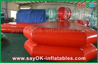 Porcellana Stagno stretto di nuoto del PVC di acqua dell'aria gonfiabile rossa dello stagno per il gioco dei bambini fabbrica