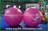 Porcellana Pallone gonfiabile dell'elio di pubblicità all'aperto gonfiabile rossa del pallone del PVC del diametro del gigante 2m fabbrica