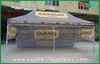Porcellana tenda piegante di pubblicità di alluminio di premio di 3X6m, tenda foranea esagonale/gazebo fabbrica