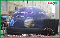 Porcellana Tenda gonfiabile della cupola del planetario mobile pieno impermeabile della stampa con la stella fabbrica
