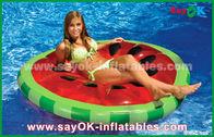 Porcellana Giallo/rosso/stagno gonfiabile crudo del galleggiante dello stagno fetta della frutta gioca per nuotare fabbrica