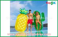 Porcellana Giocattoli all'aperto gonfiabili crudi del vario di forme della frutta della fetta galleggiante dello stagno per nuotare fabbrica