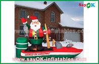 Porcellana Vari il Babbo Natale personaggi dei cartoni animati gonfiabili di Customzied per il Natale fabbrica