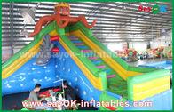 Porcellana Buttafuori gonfiabili di sicurezza gigante per il parco di divertimenti, castello gonfiabile di rimbalzo fabbrica