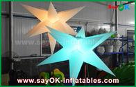 Porcellana Decorazione gonfiabile durevole di illuminazione, stella gonfiabile con luce principale fabbrica