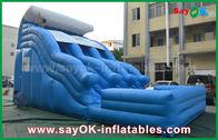 Porcellana Grandi 0,55 buttafuori gonfiabili Anti-UV della tela cerata del PVC con stampa di logo fabbrica