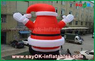 Porcellana Il grande Babbo Natale gonfiabile all'aperto adorabile per la decorazione di Natale fabbrica