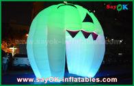 di buona qualità Tenda gonfiabile dell'aria & Decorazioni gonfiabili sveglie di festa che accendono la porta del fantasma/grande zucca gonfiabile in vendita