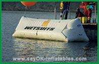 Porcellana Giocattoli gonfiabili commerciali dell'acqua del PVC, sport acquatici gonfiabili della pubblicità fabbrica