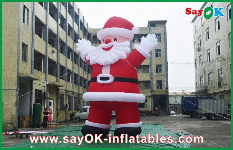 Decorazioni Natalizie Gonfiabili.Decorazioni Gonfiabili Giganti All Aperto Inflatables Il Babbo