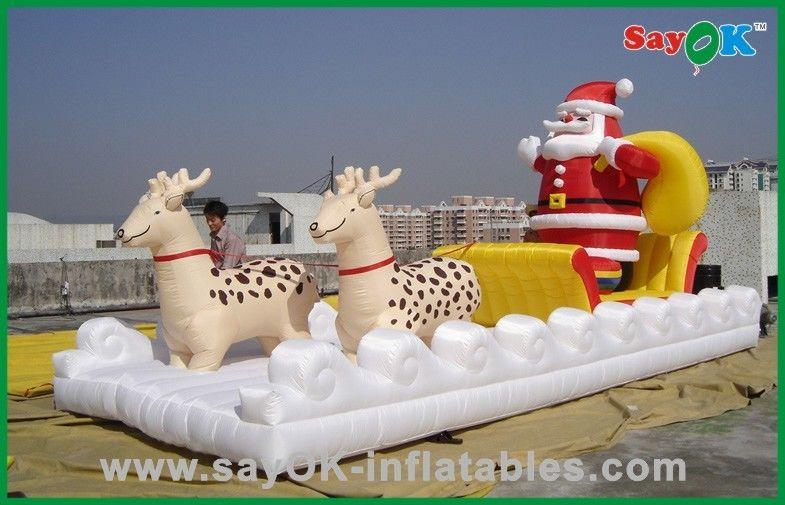 Casetta Di Natale Gonfiabile : Decorazioni gonfiabili il babbo natale gonfiabile di festa di natale
