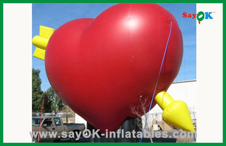 prodotti gonfiabili su ordinazione del cuore gonfiabile