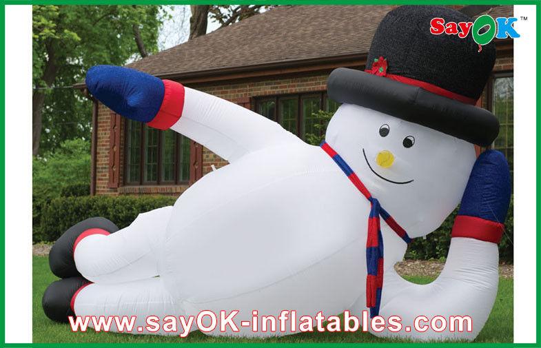 Decorazioni Natalizie Gonfiabili.Decorazioni Gonfiabili Di Festa Di Natale Del Pupazzo Di Neve