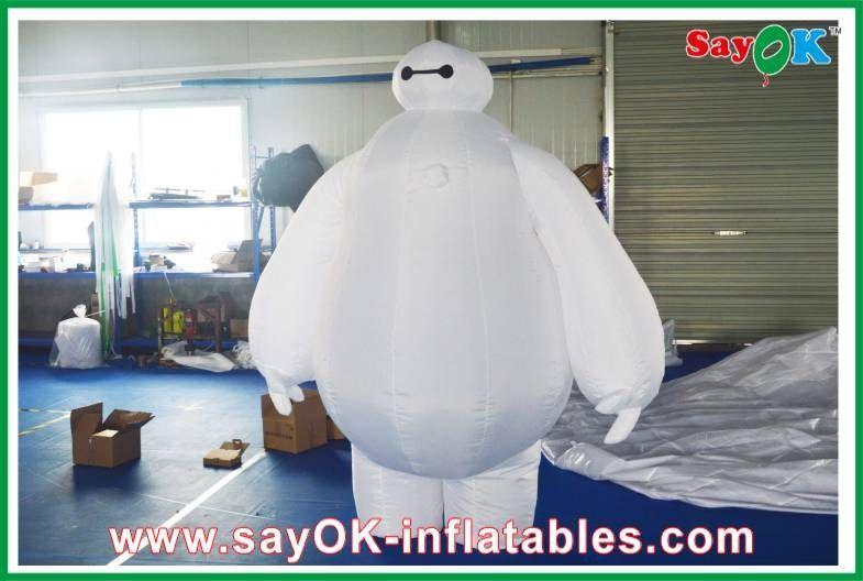 Grandi bianco gonfiabile gonfiabile di altezza di personaggi dei