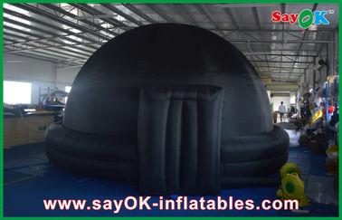 Architettura gonfiabile gigante della cupola del planetario dell'iglù nero per insegnamento della scuola