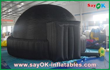Planetario gonfiabile nero gigante del cellulare 5m per le scuole/la tenda cupola dell'aria