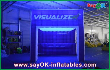 Arcobaleno che accende la tenda di campeggio gonfiabile dell'aria di manifestazione gonfiabile della tenda