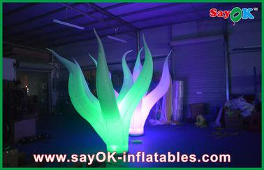 Decorazione gonfiabile durevole principale 3m di illuminazione attraenti sul pavimento