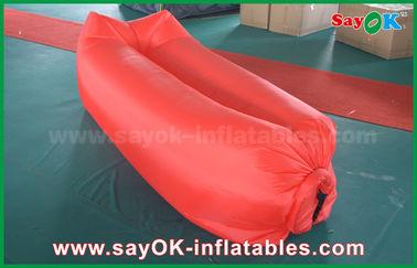 Materiale di nylon facilmente apribile di menzogne di campeggio gonfiabile della borsa dell'airbag di sonno della spiaggia