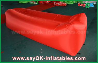 Spiaggia leggera dello strato dell'aria del sofà di pop-up dell'airbag di sonno del panno di nylon gonfiabile