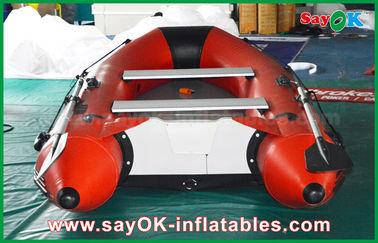 kajak gonfiabile di canoa della persona del pavimento 4-6 della lega di alluminio dei crogioli di PVC di 0.9mm