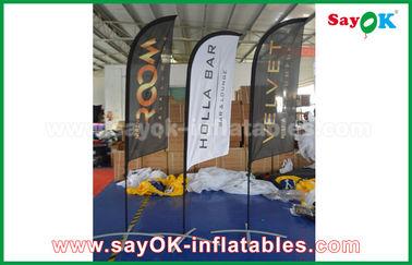 Tenda piegante di aria della bandiera gonfiabile portatile del coltello per la promozione/pubblicità