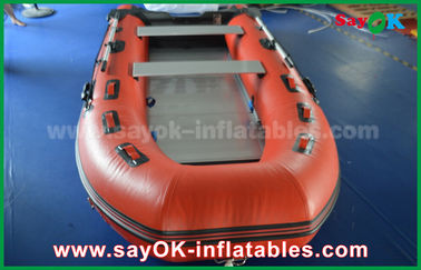 Crogioli gonfiabili di PVC della tela cerata durevole con il pavimento e le pagaie di alluminio