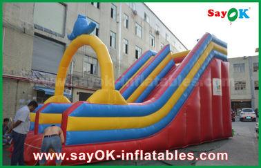 Su misura 0,55 scorrevoli gonfiabili dei buttafuori della tela cerata del PVC per divertimento dell'acqua/parco dell'acqua