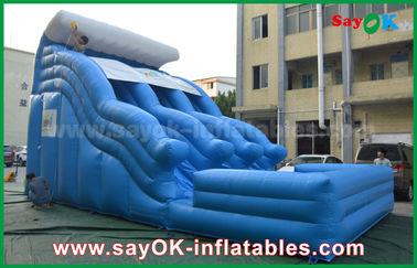 Grandi 0,55 buttafuori gonfiabili Anti-UV della tela cerata del PVC con stampa di logo