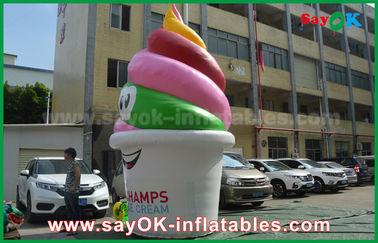 Prodotti gonfiabili su misura gigante, gelato gonfiabile per la pubblicità/promozione/partito