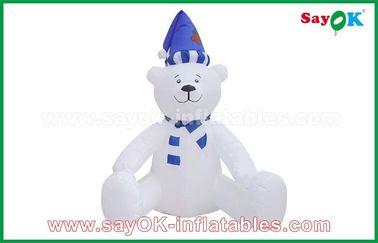 210 decorazioni gonfiabili di festa del pupazzo di neve di Natale del panno di D Oxfor su misura