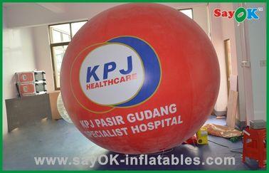 Pallone gonfiabile commerciale del gas dell'elio dei prodotti dei grandi palloni rossi dell'elio