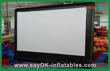 Schermo di film a grande schermo gonfiabile commerciale dello schermo gonfiabile del cinema