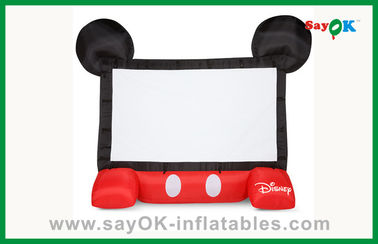 Schermo gonfiabile mobile gonfiabile del proiettore dello schermo di film di Disney dei bambini divertenti