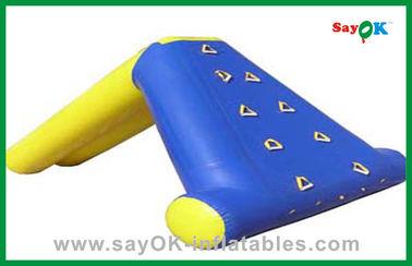 Acquascivolo gonfiabile residenziale su ordinazione, giocattoli dello stagno di acqua dei bambini