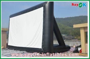 Schermi gonfiabile del panno TV della proiezione certificato del CE/SGS di 3m x di 6