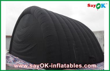 Tenda gonfiabile impermeabile nera dell'aria con il panno di Oxford e rivestimento del PVC per Ourdoor